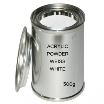 Acrylic powder white 500 g