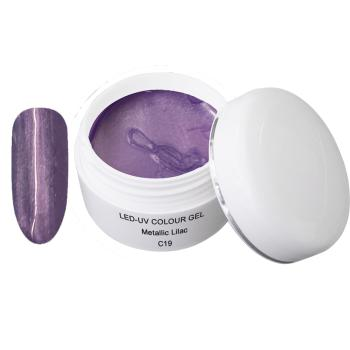 UV Farbgel - C19 Metallic Lilac - 5 ml - UV Farb Gel - Color Gel - UV Gel