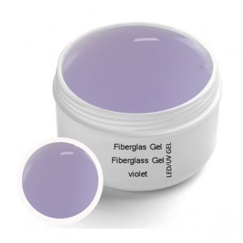 LED UV fiberglass gel VIOLET clear 30 ml - UV-LED fiberglass 1-phase gel VIOLET clear 30ml