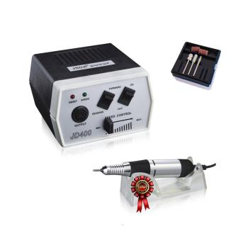 JSDA Electric Nail Drill  JD 400 Color black-JSDA Professional Studio Nail Drill for manicure and pedicure 30000 rpm
