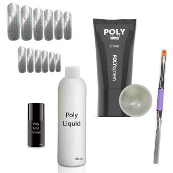 Poly Acrylic Gel Set 1 - Dual System Tips