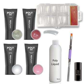 Poly Acrylic Gel Set 2 - Dual System Tips