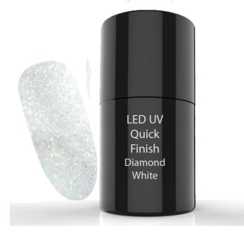UV/LED  Quick Finish Gel Diamond White 5 ml
