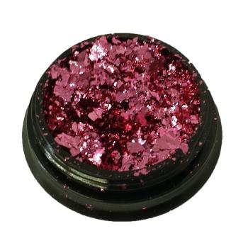 Chrom Pigment Mirrow Flakes pink 2 g