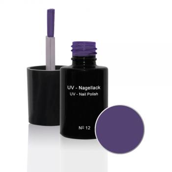 UV Nagellack  N°12 Light Purple - 6 ml - UV Gel Lack - Gellack - Hybridlack