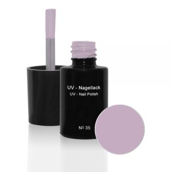 UV Nagellack  N°35 Soft Rose - 6 ml - UV Gel Lack - Gellack - Hybridlack
