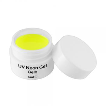 UV Farbgel Neon Gelb 5ml - Color Gel - UV Gel